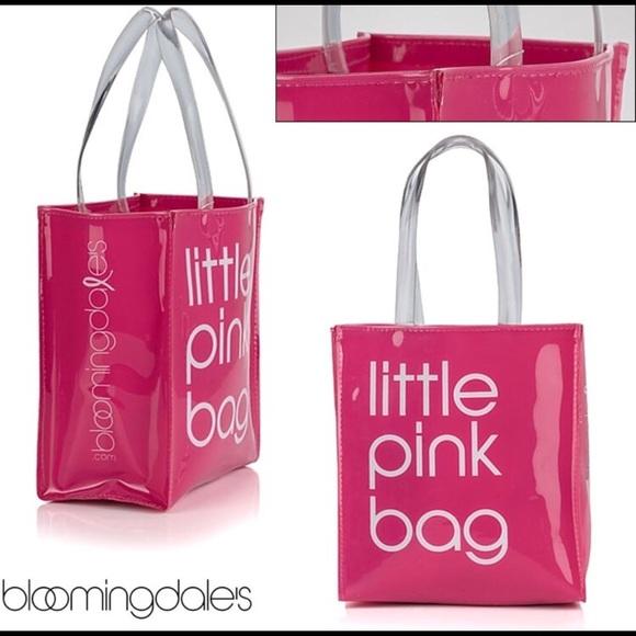7fcd5b26a Bloomingdale's Bags | Bloomingdales Little Pink Bag Nwt | Poshmark